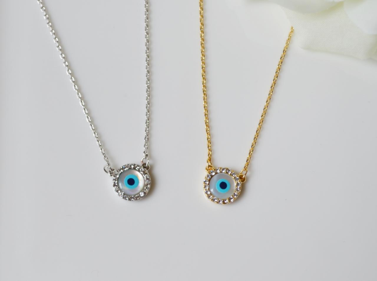 Evil eye necklace,eye necklace,protection jewelry